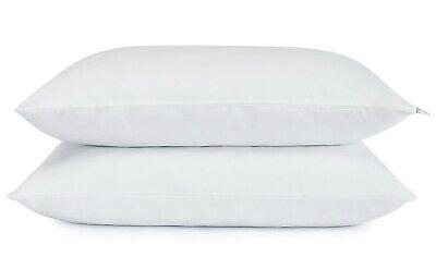 Set of 2 Serta Bed Pillows Cooling Gel Memory Foam Cluster Standard Size 2-Pack