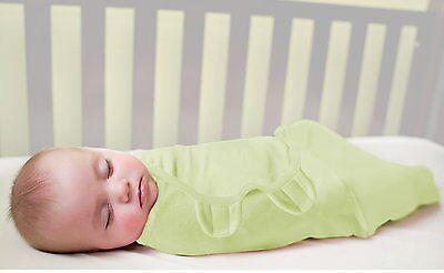 Baby SwaddleMe Wrap Swaddle Blanket Large Cotton Sage