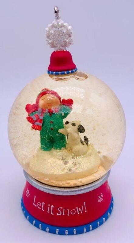2002 First Snow Hallmark Ornament Register to Win Colorway