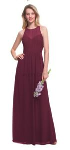 Bridesmaids Dress - Wine Colour