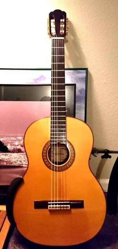 Domingo Ortega Classical Guitar- (CSA Solid Brazilian Rosewood) (Ramirez Style)