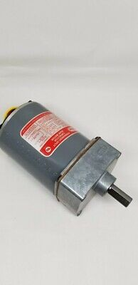 Dayton Motor - 4z065a - Permanent Split Phase Capacitor Gearmotor 95 Rpm 125