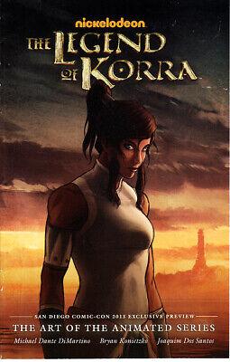 Legend of Korra Art of the Animated Series 2013 Comic-Con SDCC mini comic book