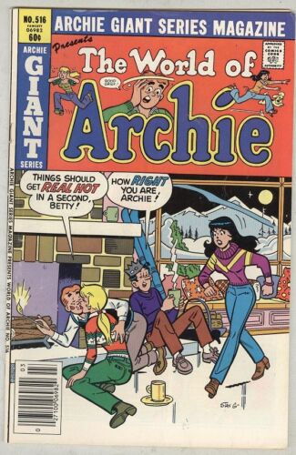 Archie Giant Series #516 March 1982 VG World of Archie