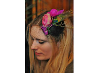 Unusual Hen Party, fascinator making parties, craft, sewing, vintage, activity Edinburgh Glasgow