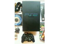 Sony ps2 Scph 30003 console full setup!!