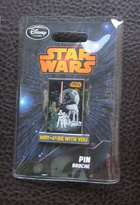 Star Wars Empire Strikes Back Pin  May The 4Th Be With You  Disney Store Le