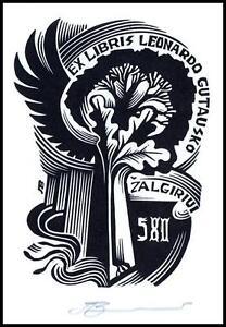 Leonenko Vasyl 1990 Exlibris X3 Stork Storch Bird Vogel Animals Tree Oak 305 - <span itemprop=availableAtOrFrom>Dabrowa Bialostocka, Polska</span> - Leonenko Vasyl 1990 Exlibris X3 Stork Storch Bird Vogel Animals Tree Oak 305 - Dabrowa Bialostocka, Polska