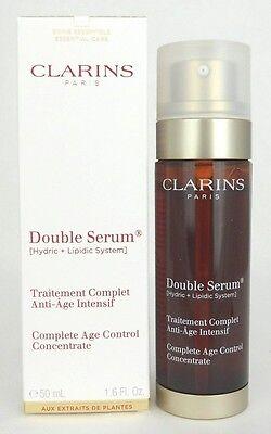 Clarins Double Serum 50 ml./1.6 oz.*Bonus Size* New in Retail Box