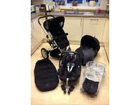 Quinny Buzz Travel System (pushchair, carrycot, accessories)