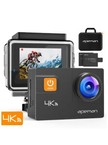 BRAND NEW 20MP Action/Sports Camera with Accessories