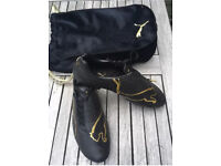 Puma Limited edition v1.08 FG Black/Gold Football boots