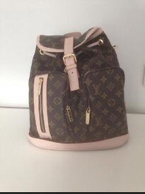 Louis Vuitton LV Monogram Print Backpack