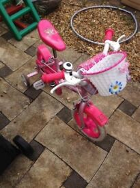 Girls bike for 3-5 years old