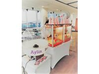Popcorn machine Hire , Candy floss machine , Slush machine , Sweet Cart Bouncy Castle Aylin Sweets