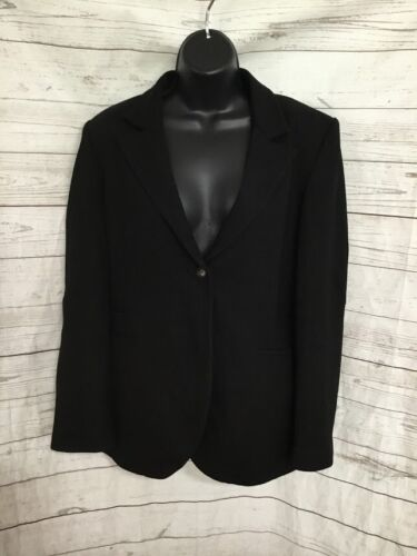 Isabella Oliver for a Pea in the Pod Maternity Blazer One Button Black Size 3