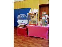 Popcorn machine Hire , Slush machine , Candy floss machine , Bouncy Castle Aylin Sweets