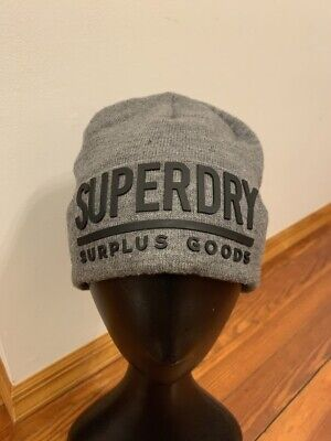 Superdry M90005DP Surplus Goods Logo Men's Beanie One Size