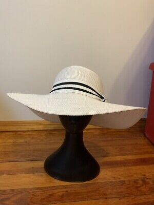 Magid Hats Wide Floppy Brim Women's Sun Hat Ivory 100% Paper One Size Ivory Sun Hat
