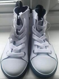 Brand New Next Boy's Canvas Boots