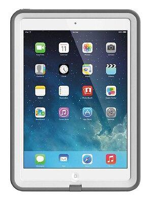 LifeProof Waterproof Fre Series Case for Apple iPad Air (1st Gen) - White/Grey