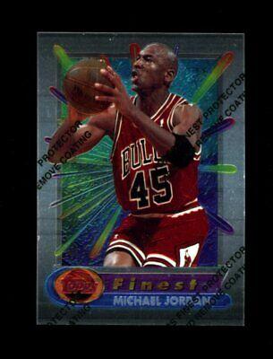 1994/95 Topps Finest MICHAEL JORDAN w/ Coating #331 Bulls (b)