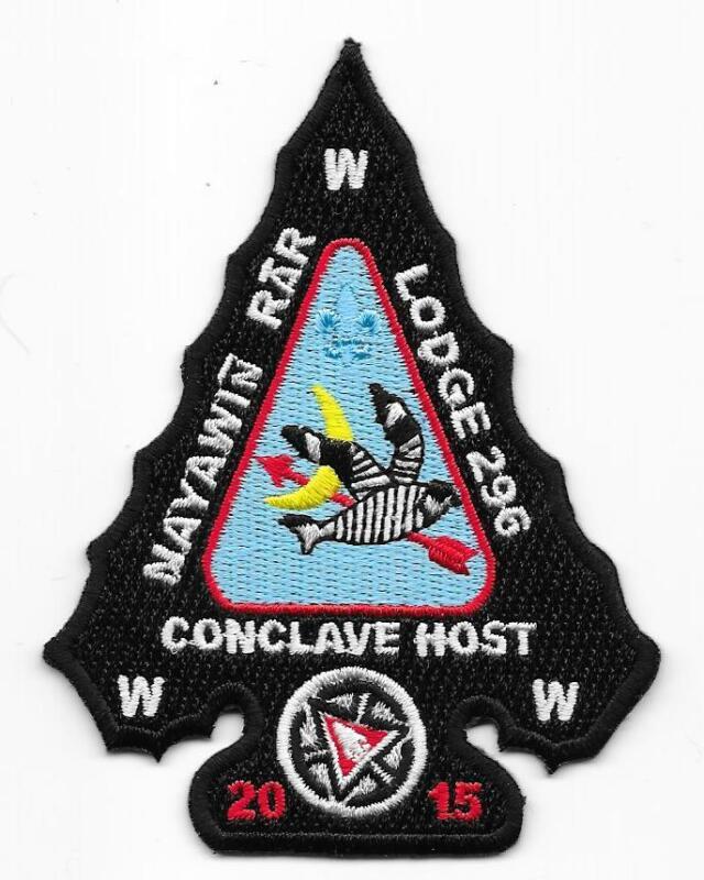 A2 Nayawin Rar Lodge 296 Tuscarora Council North Carolina Boy Scout BSA