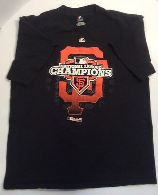 San Francisco Giants Mlb 2012 National Champions Tshirt Preownedtshirt Com