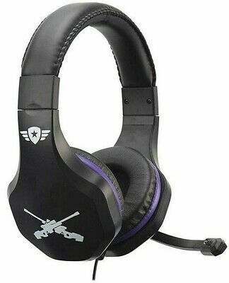 Fortnite Gaming Headset 3.5mm PS4 Xbox One PC Nintendo Switch with Mic