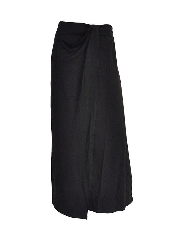 Wrap Maxi-Skirt