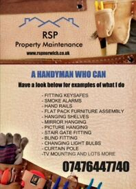 Property Home Maintenance, Norwich. Handyman Services.