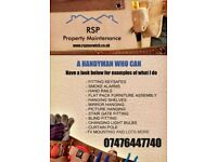 RSP Property Maintenance. A Handyman Who Can.