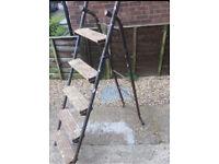 Vintage painters ladders/steps