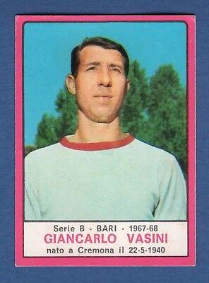 FIGURINA CALCIATORI PANINI 1967/68 - VASINI - BARI