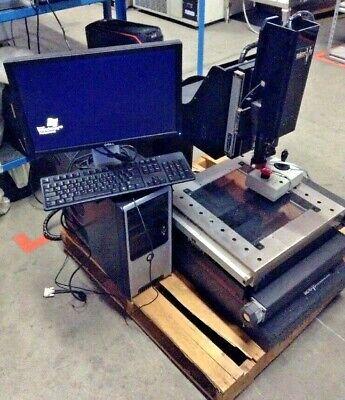 Micro Vu Video Measuring System
