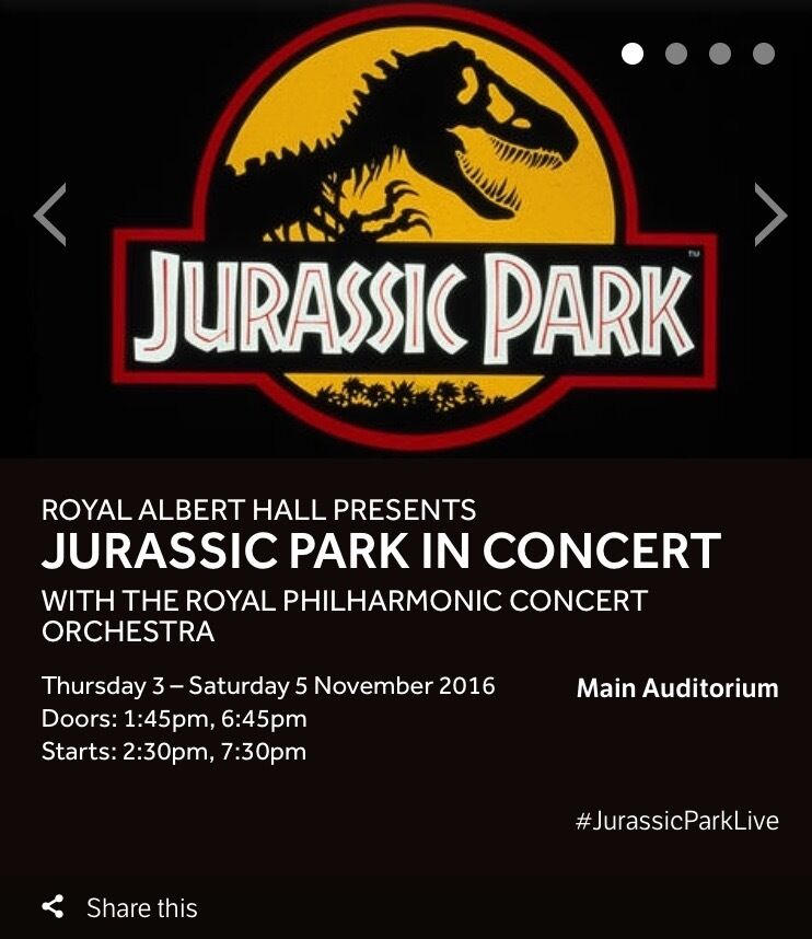 Jurassic Park at the Royal Albert Hall $_86