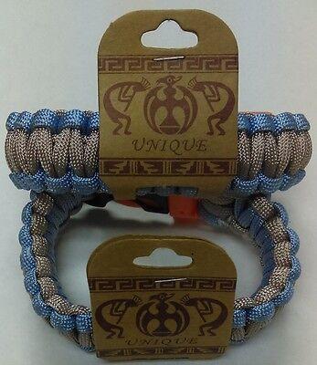 Unique Multi Color Parachute Cord Hand-Woven Chinese Knot Bracelets  - Parachute Bracelets