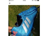 Adidas Football boots size 9 messi, Worn 3 times in my garden