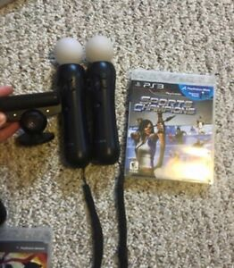 PS3 with accessories and games London Ontario image 5