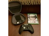 Xbox one Elite control and Call of duty WW2 bundle