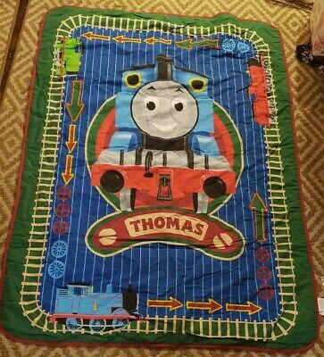 Guillane Thomas The Tank Engine Thomas and Friends Toddler Bed Comforter 42 x 58