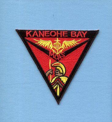 MCAS MARINE CORPS AIR STATION KANEOHE BAY HI USMC Squadron Base Jacket Patch