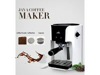 3 in 1 coffee machine can make all type coffee fresh better then coffee shops