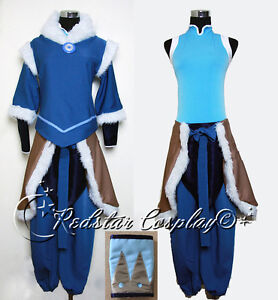 Avatar The Legend of Korra Korra Cosplay Costume - Custom made in any size