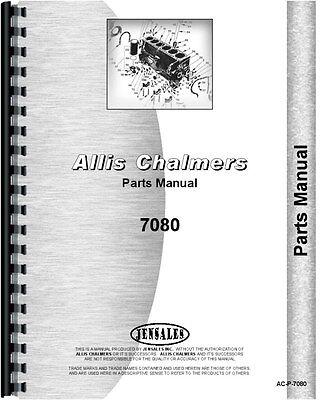 Allis Chalmers 7080 Tractor Parts Manual