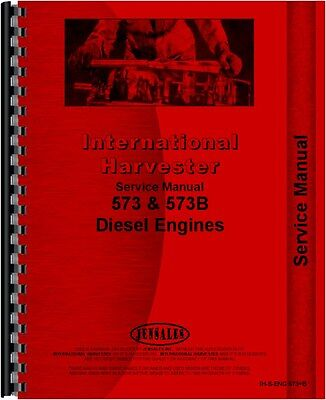 International Harvester Crawler Service Manual Ih-s-eng 573b