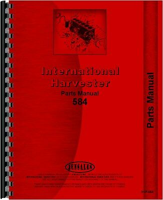 International Harvester 584 Tractor Parts Manual Ih-p-584