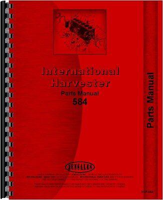 International Harvester 584 Tractor Parts Manual Ih-p-584