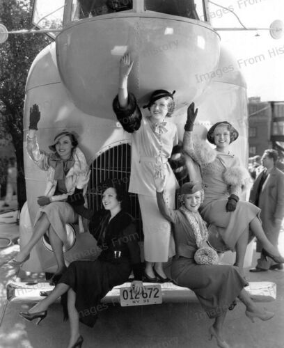 8x10 Print Grace Bradley Ada Ince Lois January Stolen Harmony 1935 #GBAC
