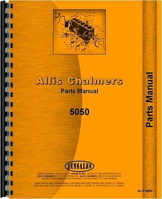 Allis Chalmers 5050 Tractor Parts Manual Ac-p-5050